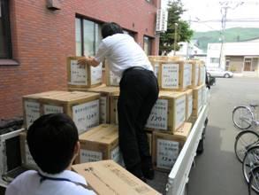 支援物資第2次搬送