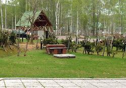 南丘森林公園内キャンプ場
