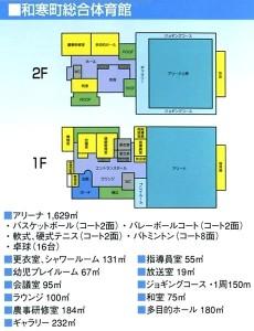 総合体育館-平面図